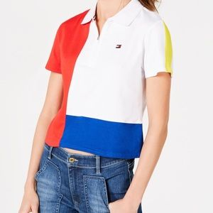 Tommy Hilfiger Sport Colorbloked Polo Shirt